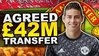 Has James Rodriguez Agreed To Join Manchester United For £42 Million?! | Transfer Talk