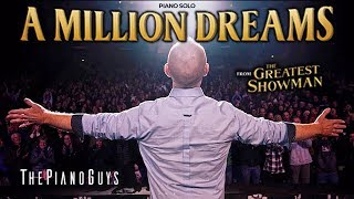 """A Million Dreams"" (Piano Solo) With A Surprise Ending - The Greatest Showman"