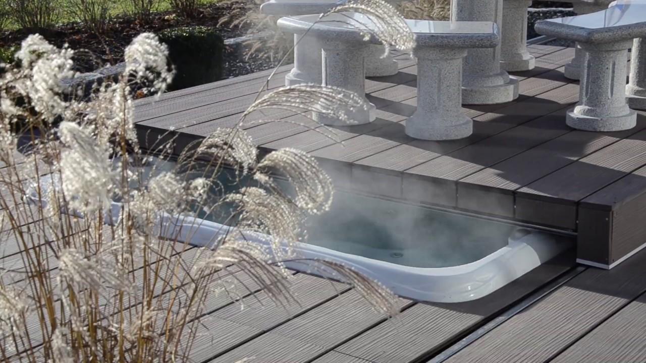 Pool Lounge® TCS   Abdeckungssystem von Armstark