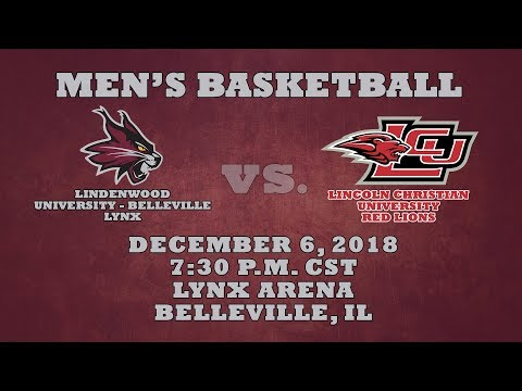 Men's Basketball: Lindenwood University - Belleville Lynx Vs. Lincoln Christian University Red Lions