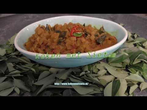 Bananenstam in curry (vegetarisch)