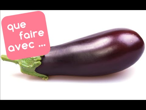 que faire avec des aubergines youtube. Black Bedroom Furniture Sets. Home Design Ideas