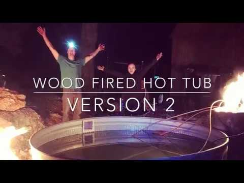 Pickle's Ford Cabin:  Wood Fired Hot Tub Test Part 2