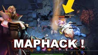 Dota 2 Cheaters: SUNSTRIKE inside FOG OF WAR (MAPHACK) + Other Scritps!
