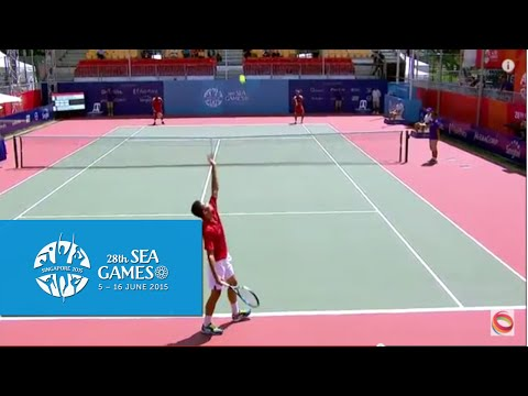 Tennis Men's Double Vietnam vs Indonesia  (Day 5) | 28th SEA Games Singapore 2015
