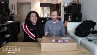 Inspire Nomads: First Vlog! Tortuga Day Pack and MacBook Pro Retina 15 Unboxing