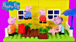 Peppa Pig 107 Mega Blocks Construction House Peppa's Building Bloks Toy By Dctc