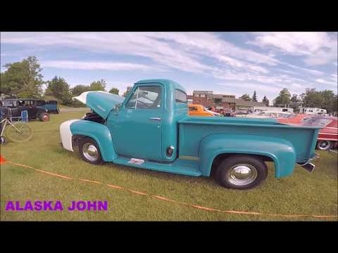 ANCHORAGE ALASKA CAR SHOW - Park Strip Show and Shine