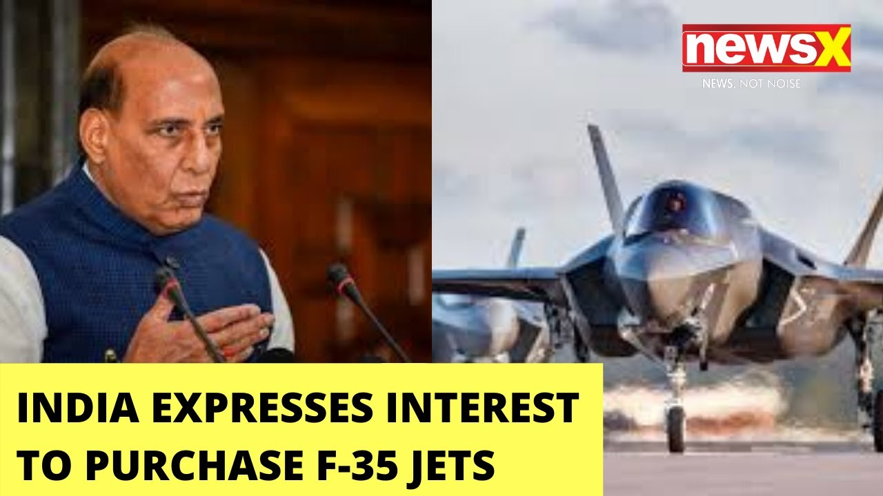 US's F-35 jets to India to fight China | NewsX