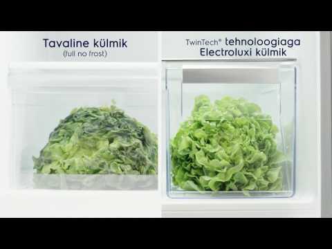 Electroluxi TwinTech® FrostFree tehnoloogia