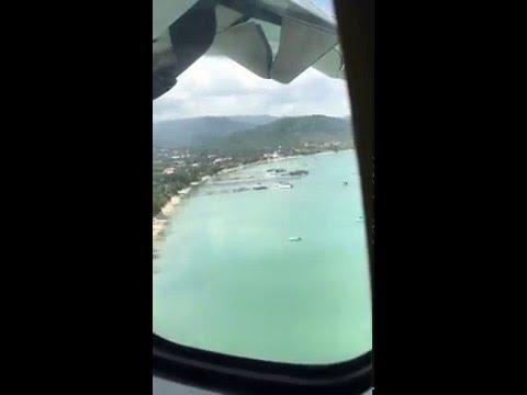Flight Phuket – Koh Samui   HKT – USM  Landing
