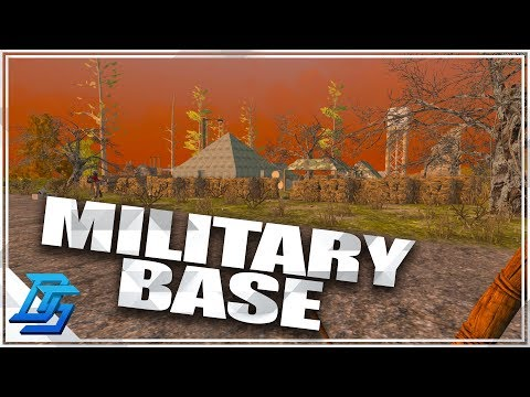 Military Base , Missile Silo  - 7 Days to Die - S2- Pt. 3