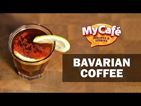 Bavarian Coffee Recipe from My Cafe and JS Barista Training Center
