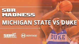 Michigan State vs Duke Elite 8 NCAAB Picks ATS | March Madness Betting | Mach 30th