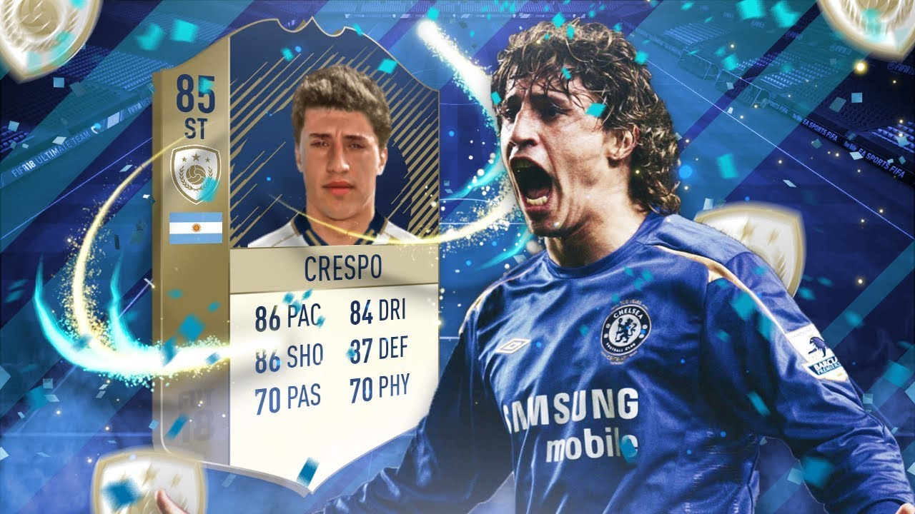 Fifa 18 Hernan Crespo 85 Player Review