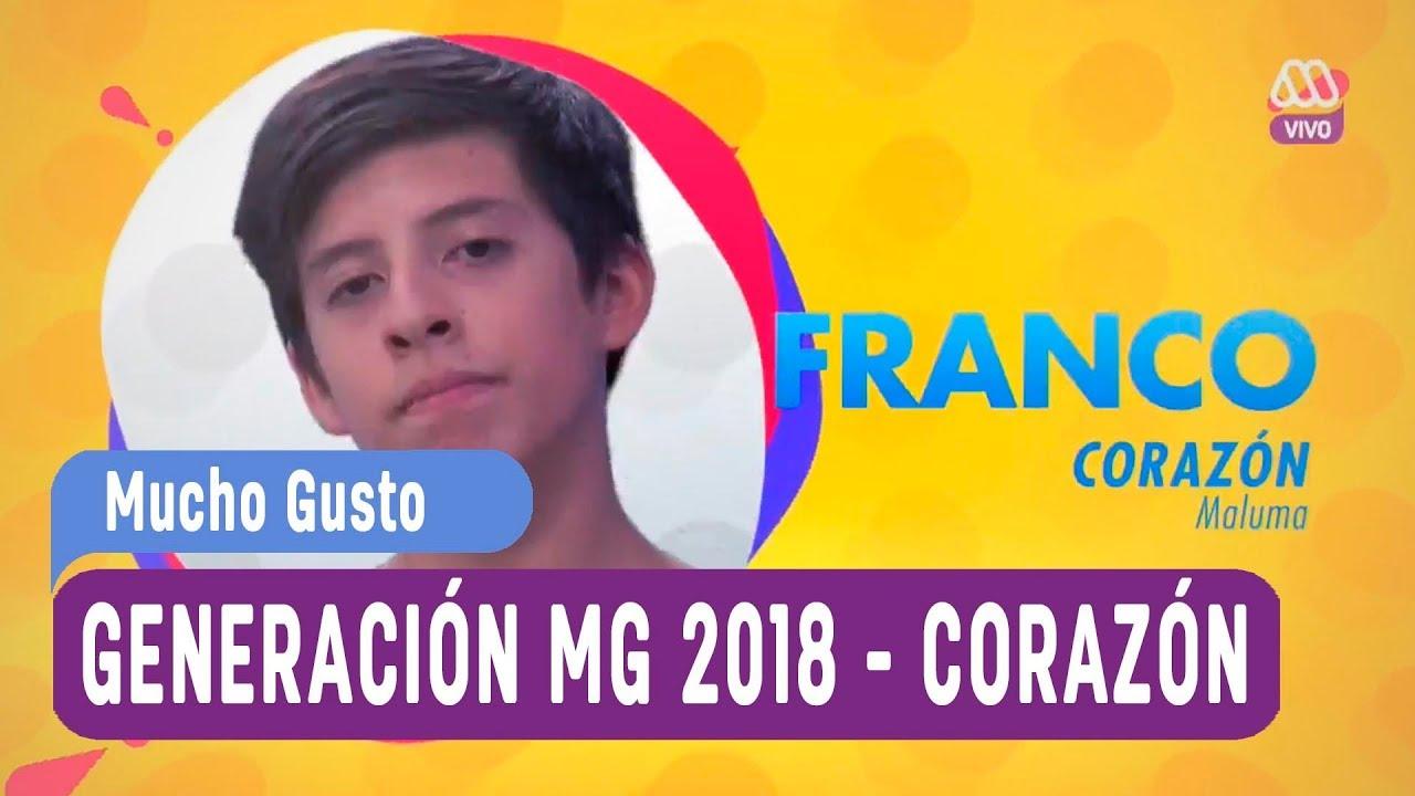 Generación MG 2018 - Ranking de canciones - Corazón