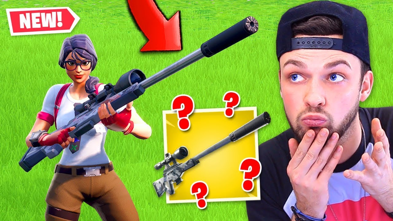 Is the *NEW* SILENT sniper in Fortnite GOOD or BAD...?