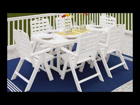 Elegant nautical patio furniture design