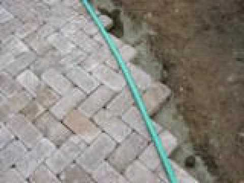Creating Big Paver Curve Youtube