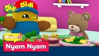 Didi & Friends | Lagu Baru Musim 3 | Nyam Nyam