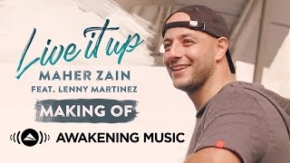 Maher Zain - Making of  quot Live it Up quot    feat  Lenny Martinez Resimi