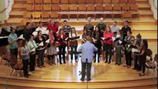 Dona Nobis Pacem (Grant Us Peace) - written by Joshua Spacht, performed by The McLean Master Chorale