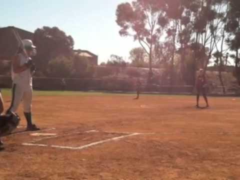 Jackie Buechler Pitching 2012