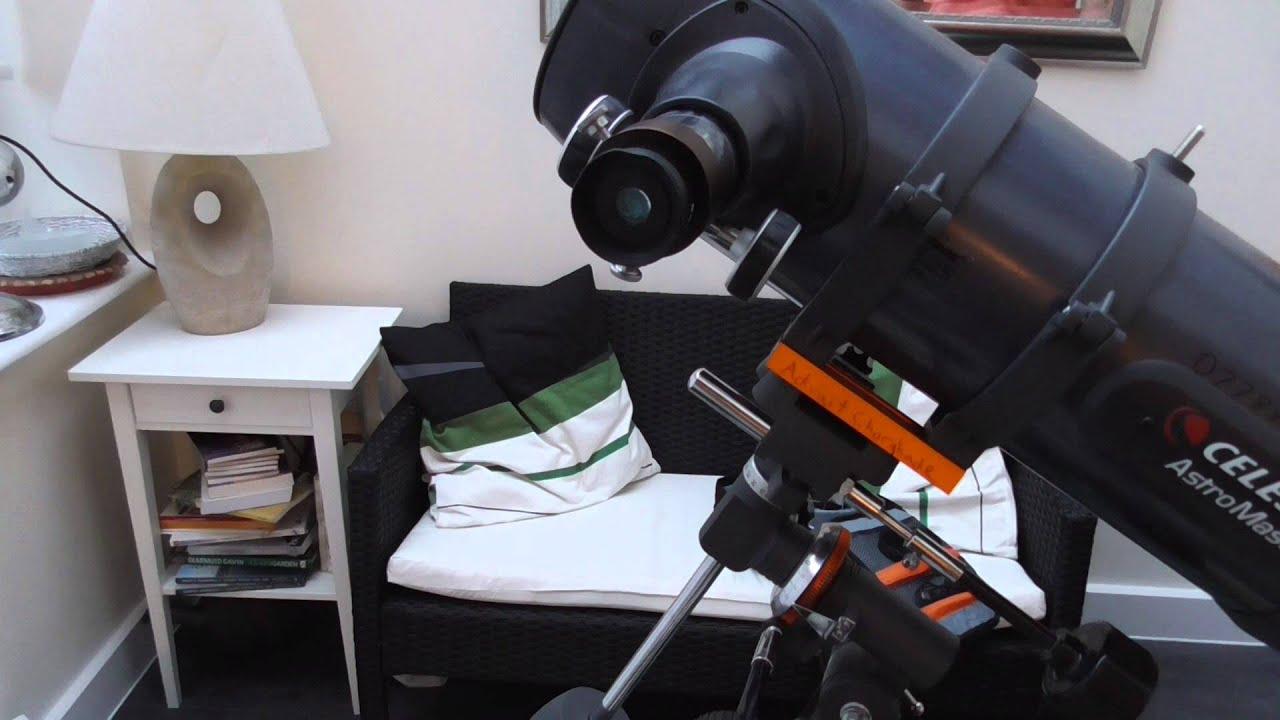 Celestron travel scope u night sky in focus