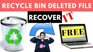Data Recovery from Recycle bin deleted Files ! Recoverit Free