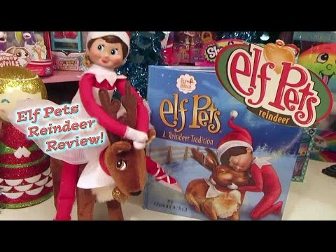 New ELF PETS REINDEER by Elf on the Shelf! Review & Unboxing! Merry Christmas!