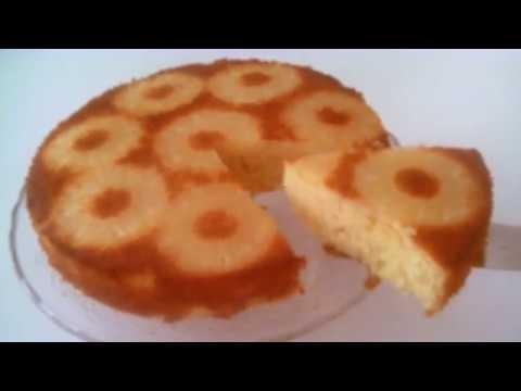 gâteau-moelleux-au-yaourt-et-ananas-facile-et-rapide