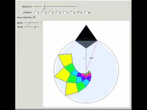 Deltoid Kite Tiling - YouTube on