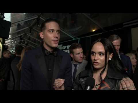 The Fate Of The Furious G-Eazy & Kehlani New York Premiere Interview