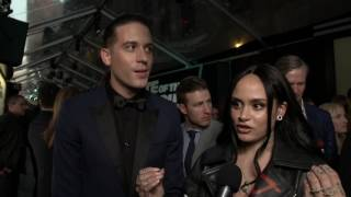 the fate of the furious g eazy kehlani new york premiere interview