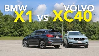 2018 Volvo XC40 vs BMW X1 Comparison