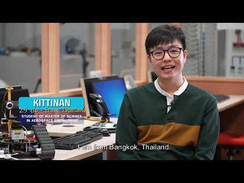 Kittinan, 25yo, student of the Master of Science in Aerospace Engineering!