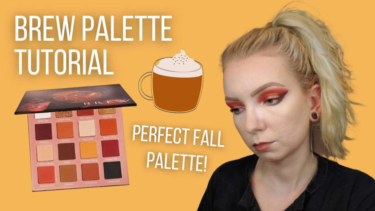Brew Palette by September Rose - Fall-Inspired Eyeshadow Tutorial!