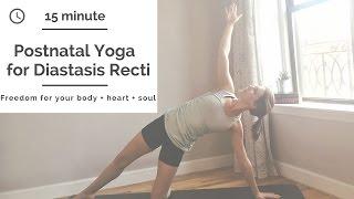 Postnatal Yoga: Diastasis Recti healing