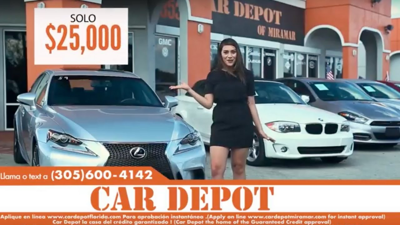 Car Depot Miramar Commercial