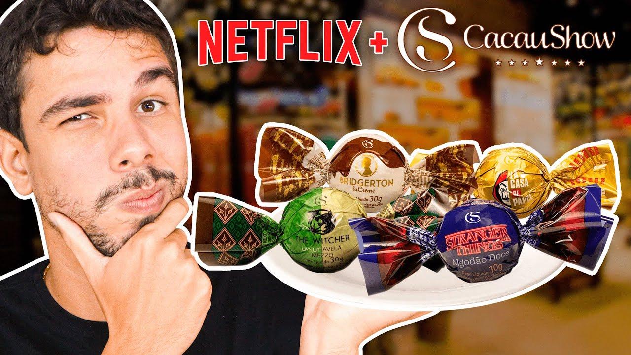 As Novas Trufas Netflix da Cacau Show