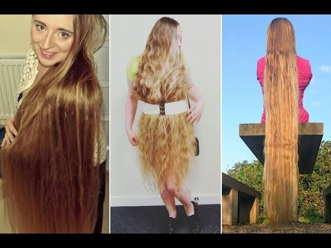 worlds longest hair real life rapunzel tips to grow
