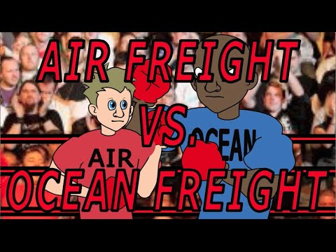 Air Freight Vs. Ocean Freight - Universal Shipping News