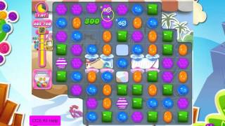 Candy Crush Saga Level 1632. 125 sugar drops! NO BOOSTERS