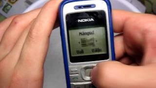 Nokia 1200 waterproof test