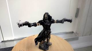 Sculpting Overwatch Reaper - complete timelapse + hq pictures