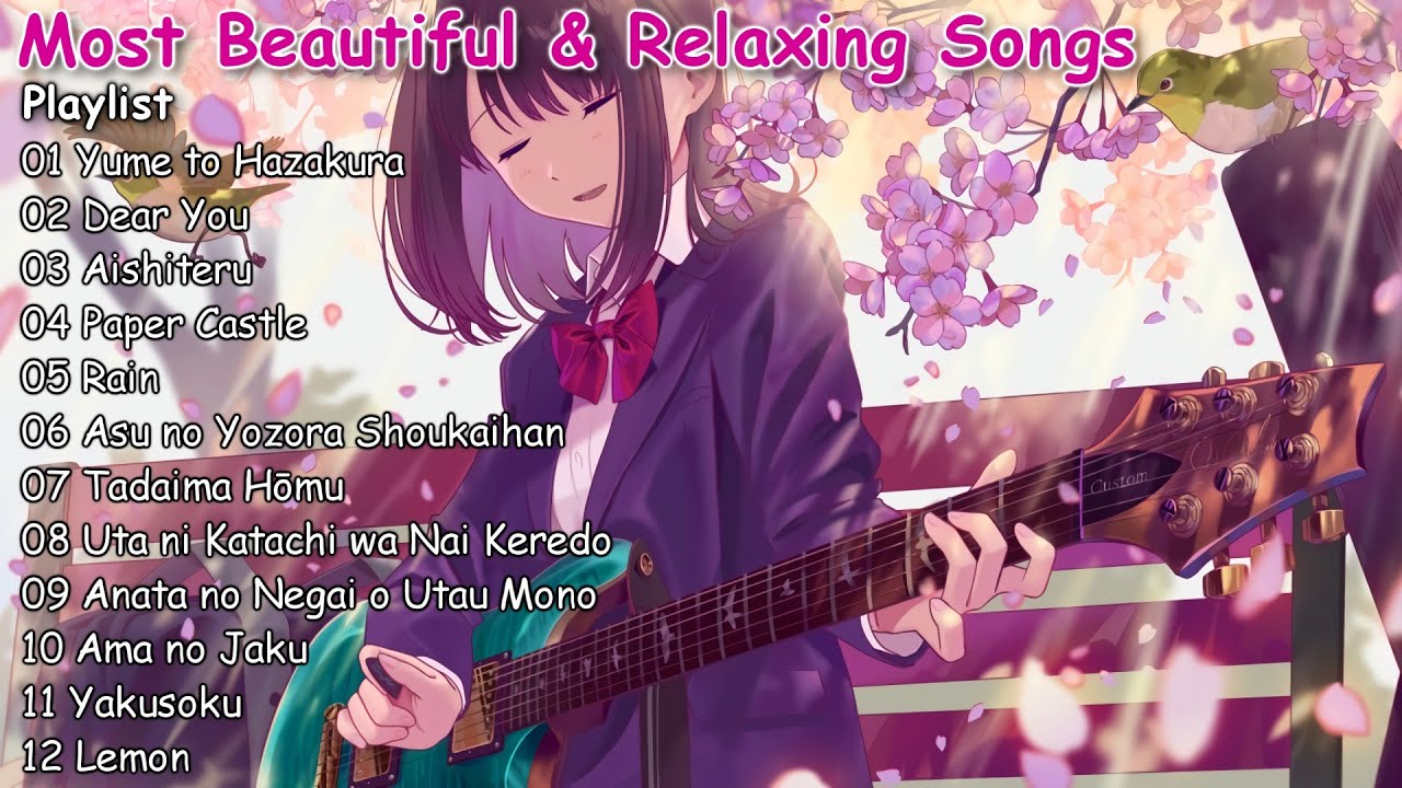 【1 Hour】Most Beautiful & Relaxing Japanese Songs 2019 - For Relax & Sleep