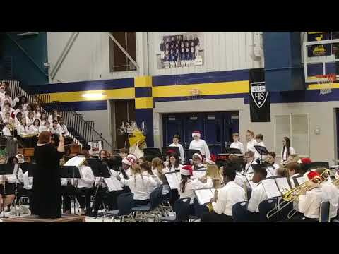 Polar Express Buckhorn Middle School Band