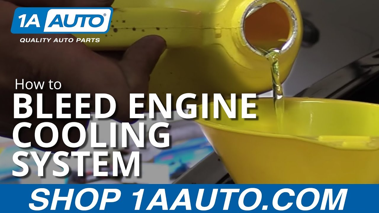 How to Properly Bleed Engine Cooling System  YouTube