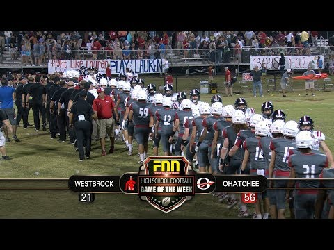 FNN Game Of The Week = Westbrook Christian At Ohatchee