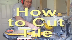 The many ways to cut tiles
